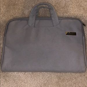 13 inch gray/grey laptop or tablet case